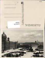 592467,Foto Ak Wien Innere Stadt Maria Theresien-Platz u. Naturhistorisches Muse