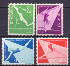 ROMINA Mi `1639-42 MNH CV € 14.00 Sport Gymnastik turnen 0119