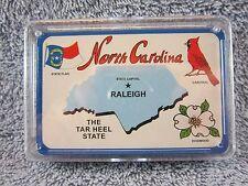 Souvenir North Carolina State NC Playing Cards  ( VERY NICE ) Poker