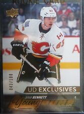 2015-16 Young Guns EXCLUSIVES Rookie **SAM BENNETT** RC! /100 Calgary SP 2016 UD