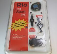 Rio Cali Sport mp3 player 256mb Camo Green stopwatch FM Radio BRAND NEW UNOPENED