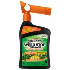 Spectracide Weed Stop for Lawns + Crabgrass Killer Concentrate 32 oz, QuickFlip