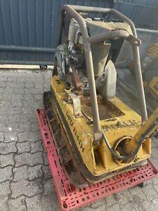 Wacker DPU 3345 H Rüttelplatte mit Verbreiterung Hatz ES75 Motor ES 75 Diesel