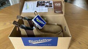 NEW RARE BLUNDSTONE TASMANIA AUSTRALIA 1426 BOOTS CANVAS SIZE UK 8
