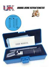 Portable Handheld Animal Clinical Refractometer Pet Urine Tester check