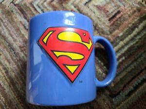 Superman Big Logo Coffee Mug Cup DC Comics Blue Red 20 Oz