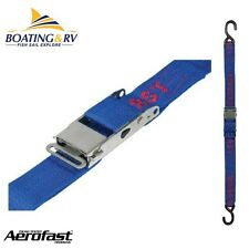 Heavy Duty Aerofast Gunwhale Stainless Buckle Strap 50mm x 5.5m - S-Hook