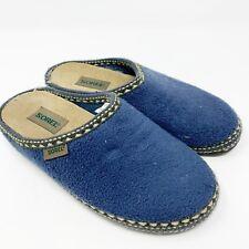 105d26bbb34a Sorel Womens Slip On Slide Slippers Blue Size 7
