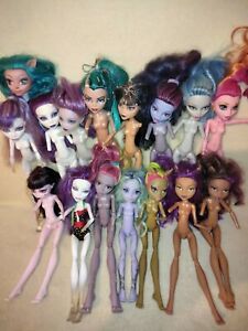 Monster High Dolls Bulk - Amputees Aplenty. MAINLY ARMLESS, GOOD HEADS ATTACHED!