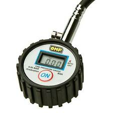 OMP Go Kart/Kart/Karting 0-7 Bar Digital Tyre Pressure Gauge
