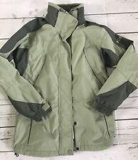 Columbia Core Interchange green Ski Winter Jacket Size Small Sportswear  *8
