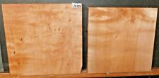 Flame Figured Maple Wood 10354 Two Turning Blanks Lathe Lumber