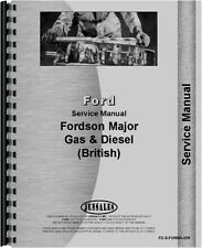 Ford New Major Tractor Service Manual (1953-1958) FO-S-FORMAJOR