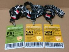 Rare F1 Singtel Singapore Grand Prix 2013 Fri-Sun Tickets w/ Lanyard x3 (A1765)