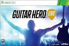 NEW Microsoft XBox 360 Guitar Hero Live Bundle w/ Guitar and Game (NIB)