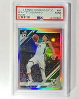 2019-20 Optic HOLO Giannis ANTETOKOUNMPO #81 Bucks PSA 9 Mint Silver Prizm