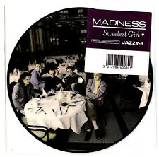 """MADNESS - SWEETEST GIRL - 7"""" PICTURE DISC - Suggs ska two 2 tone stiff cd lp"""