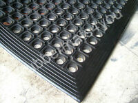 Heavy Duty Anti-FATIGUE Anti-Slip Rubber Greenhouse Floor Workshop Mat 5ft x 3ft
