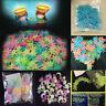 100pcs 3D Stars Glow In The Dark Luminous Fluorescent Wall Stickers Room Decor~~