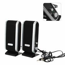 Casse Audio Speaker per PC 2.0 COMPUTER USB NOTEBOOK ALTOPARLANTI STEREO
