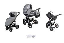 Kombikinderwagen Kinderwagen 3in1 Babyschale 0-13kg Babywagen Buggy Varita