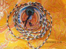 HEALING BELOVED MEDICINE BUDDHA & MANTRA TIBETAN BUDDHIST PENDANT NECKLACE NEW