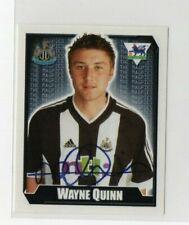 Merlin premier league football sticker 2003 Newcastle United Wayne Quinn No 427