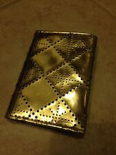 H & M- Gold Synthetic Leather Coin Purse