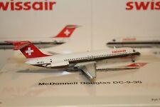 """Swissair DC-9-30 (HB-IFV) """"Bülach"""", 1:200 Inflight"""