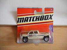 Matchbox GMC Terradyne in White on Blister