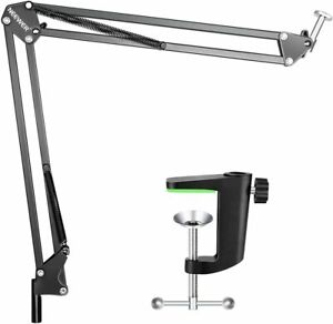 Neewer Microphone Stand desk clamp suspension boom arm pro recording broadcast