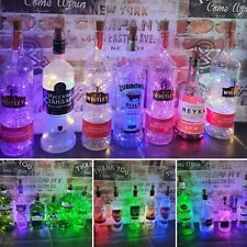 Upcycled spirit bottles with lights, vodka bottle gift, gin bottle gift, rum