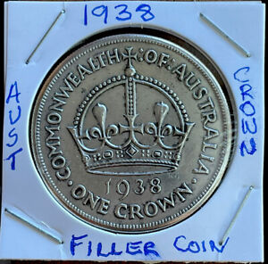 1938 Australian Crown (TOKEN/FILLER)