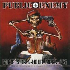 PUBLIC ENEMY - MUSE SICK-N-HOUR MESS AGE  CD  21 TRACKS HIP HOP / RAP  NEU