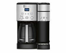 Cuisinart Coffee Center 12 Cup Coffeemaker & Single-Serve Brewer-Stainless Steel