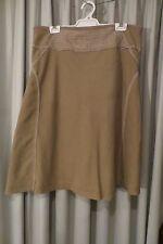 VINTAGE  ~ JUMP ~ Beige Silk/Linen SKIRT * Size 18/20 *