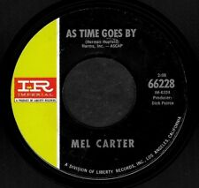 "MEL CARTER ""AS TIME GOES BY/Look To The Rainbow"" IMPERIAL 66228 (1966) 45rpm"