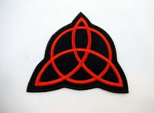 Viking Trinity Knot Iron On Patch Symbol Protection Rune Wiccan Pagan Norse
