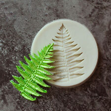 Fern Leaf Fondant Mold Cake Decorating Chocolate Baking Mould Sugarcraft  DIY