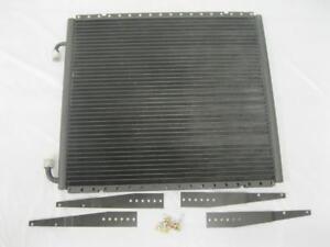 """Universal Vertical Air Conditioning Condenser w/ Brackets 17"""" x 19"""" AC Superflow"""