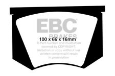 EBC Yellowstuff Front Brake Pads for Warwick GT 2.0 (60 > 62)