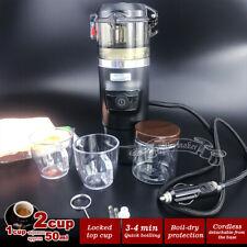 12V Car Espresso Coffee Machine Make Espresso In Car Coffee Maker with 2cups