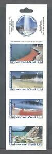 (863108) Nature, Round Stamp, Booklet, New Zealand Universal Mail