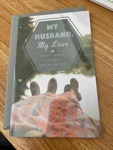American greeting card -Happy Anniversary Husband-there's nobody i'd rather have
