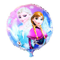 LOT 2 BALLONS REINE DES NEIGES ELSA ET ANNA/ANNIVERSAIRE/ENFANT/DECORATION/FETE