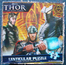 jigsaw puzzle 100 pc 3D lenticular holographic THOR the mighty avenger