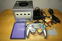 Nintendo Gamecube Console + Gameboy Player Enjoy Plus Pack Silver version USED