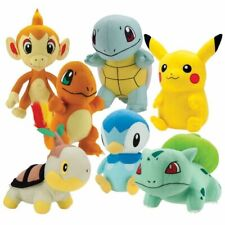 """Pokemon Pikachu & Friends Soft Plush 7"""" - 9"""" inches New with tag Pick Character"""