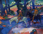 The Flight Paul Gauguin Office Decoration Print on CANVAS Giclee Reproduction SM