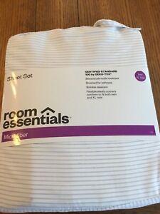 Printed Microfiber Sheet Set - Room Essentials Twin/ Twin XL (22D)